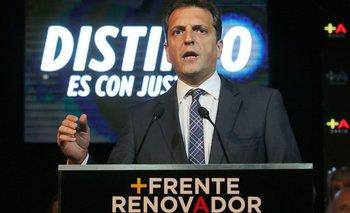 Massa apoya la nacionalización del ferrocarril pero también pide estatizar el juego   Luis acuña
