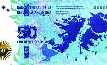 """En el Reino Unido se burlan del billete de Malvinas: """"vale un montón de dinero, 3,72 libras""""   Islas malvinas"""