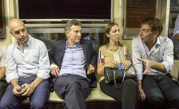 Macri ningunea a Michetti y se saca fotos con todos menos con ella | Elecciones 2015