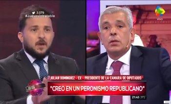 Diego Brancatelli se cruzó con Julián Domínguez por la candidatura de Cristina   Paso