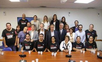 Amplio apoyo de la oposición a los trabajadores del BAUEN   Bauen