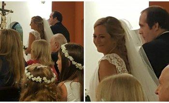 Elisa Carrió asistió a la boda del líder de los trolls PRO | Redes sociales