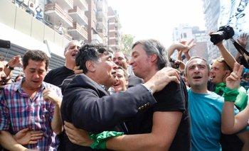 El video del reencuentro entre Máximo Kirchner y Zannini | Máximo kirchner