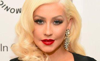 El look natural de Christina Aguilera sin maquillaje para su nuevo trabajo | Bananas