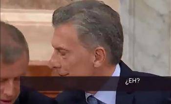 El diálogo secreto entre Mauricio Macri y Emilio Monzó durante el discurso en el Congreso   Mauricio macri