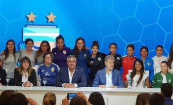 AFA anunció la profesionalización del fútbol femenino | Afa