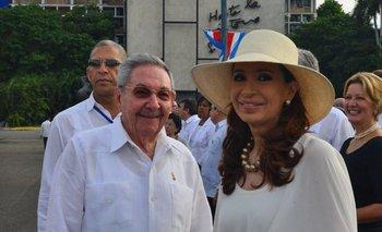 Cristina Kirchner se reunió con Raúl Castro en Cuba | Cuba