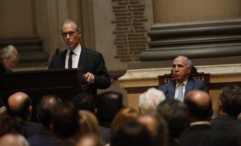 Ausencias de Bonadio y varios jueces de Comodoro Py: el detrás de escena del discurso de Rosenkrantz | Ricardo lorenzetti