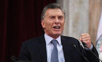 """Mauricio Macri, en reunión de Gabinete ampliado: """"¡Estoy caliente!""""   Mauricio macri"""