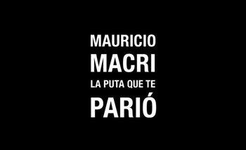 El extraño spot de campaña de Cambiemos que contiene un cantito con insultos a Mauricio Macri | Mauricio macri