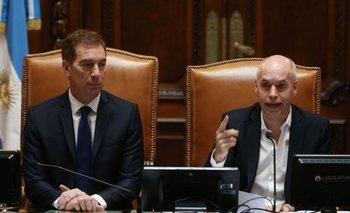 Con guiño a Alberto, Larreta abrió las sesiones ordinarias | Legislatura porteña