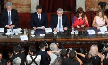 Alberto busca su impronta y explora los limites de la unidad | Asamblea legislativa