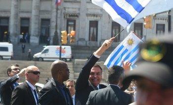 Uruguayos ovacionaron a Bolsonaro en la asunción de Lacalle Pou | Uruguay