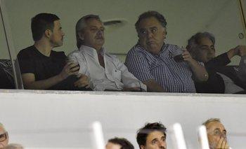 Tras el discurso, Alberto fue a ver a Argentinos | Alberto fernández
