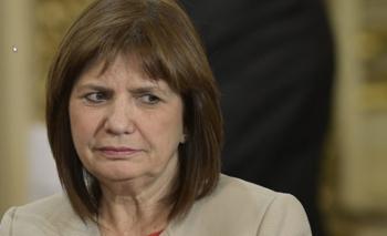 Patricia Bullrich volvió a defender a Vandenbroele | Caso ciccone