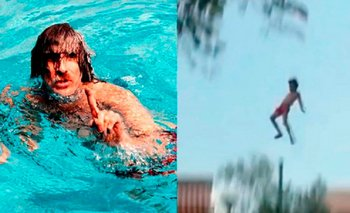 Se cumplen 20 años del mítico salto de Charly García | Efemérides