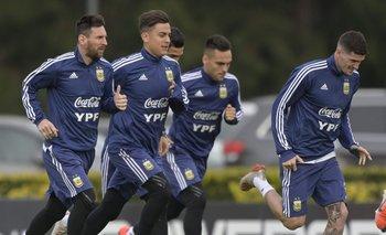 Jugadores de la Selección vendrán a Argentina en el avión de Messi | Fútbol