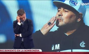 El misógino comentario de Diego Díaz sobre la plaqueta a Diego | Tyc sports