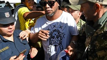 La cárcel donde está Ronaldinho, bloqueada por coronavirus   Pandemia