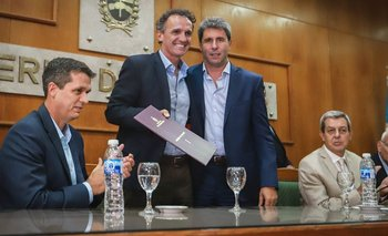 Katopodis fue a San Juan, con eje en la deuda que dejó Macri  | San juan