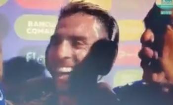 Buffarini se confundió y le mandó saludos a Bauza | Boca campeón