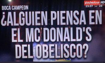 Las placas de Crónica por la consagración de Boca Juniors | Boca juniors