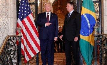 El polémico acuerdo militar que firmaron Trump y Bolsonaro   Armas