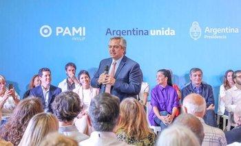 Alberto anunció un proyecto de igualdad entre hombres y mujeres   Pami