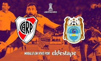 Mirá en vivo River Plate vs. Binacional | Copa libertadores