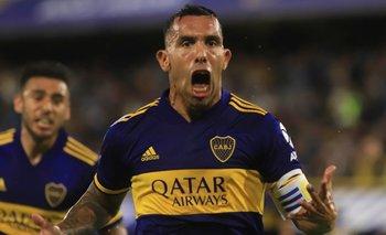 La divertida foto de Tevez antes del partido de Boca ante Caracas | Fútbol