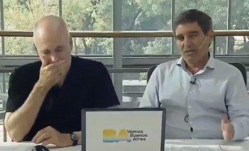 El video del estornudo de Larreta que se volvió viral | Ciudad