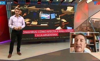 Cuarentena: Adrián Ventura salió al aire desde su casa | Coronavirus en argentina