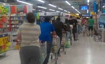 Coronavirus: supermercados llenos ante eventuales medidas | Coronavirus en argentina
