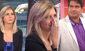 Tensión: Débora Plager, con fiebre al aire de América TV | Coronavirus en argentina