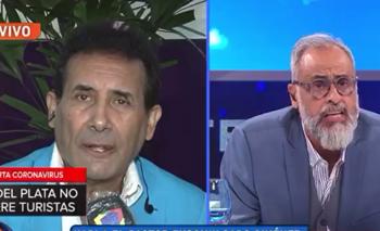 Furioso cruce en vivo entre Jorge Rial y el Pastor Giménez    Televisión