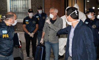 Deportan y prohíben la entrada al país de un italiano  | Coronavirus en argentina
