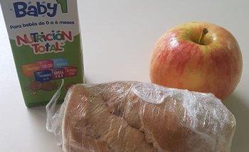 Ciudad envía sandwiches en las viandas de primera infancia   Coronavirus en argentina