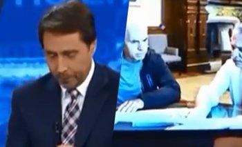 La emoción de Feinmann al ver una foto de Alberto y Larreta | Video