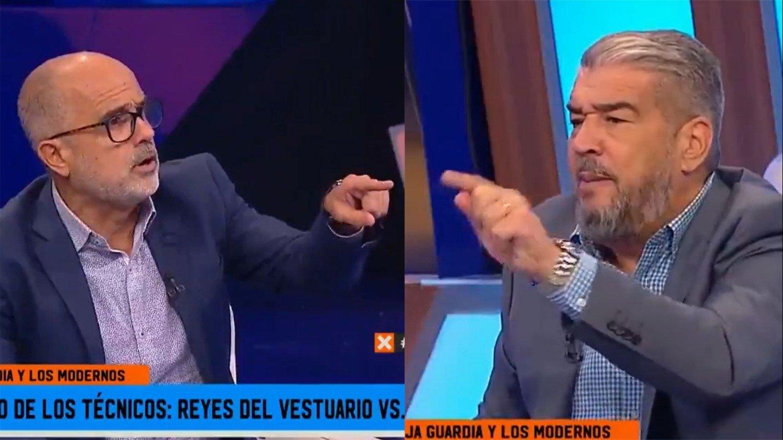 90 Minutos De Futbol En Vivo Por Internet fox sports: tremendo cruce a los gritos entre el 'chavo