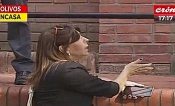 Olivos: a Mercado la asistió el SAME porque se sentía mal   Televisión