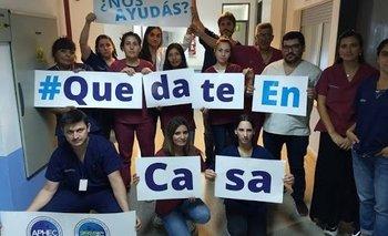 Argentina Aplaude: masivo apoyo al personal de Salud | Coronavirus en argentina