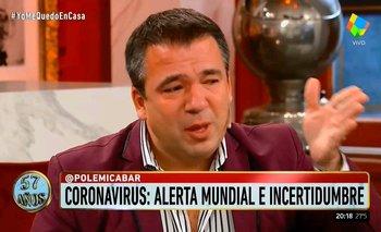Gastón Recondo lloró en vivo y le hizo un reclamo a Tinelli  | Televisión