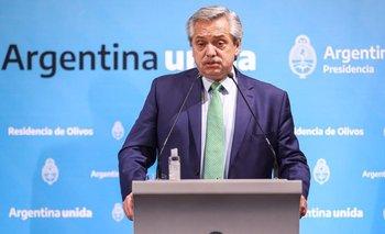 Tras el DNU, Alberto Fernández dijo que no tiene problemas con Clarín | Alberto fernández