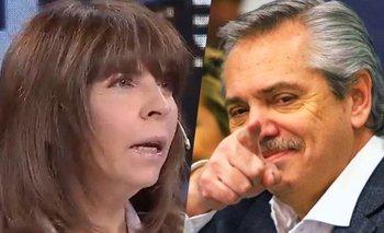 Insólito: Mercado se emocionó con el discurso de Alberto   Silvia mercado