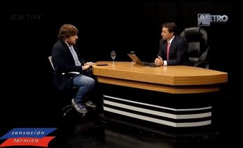 Santoro se emocionó en una entrevista con Feinmann | Televisión