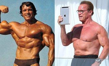 Schwarzenegger y una rutina de ejercicios para hacer en casa | En redes
