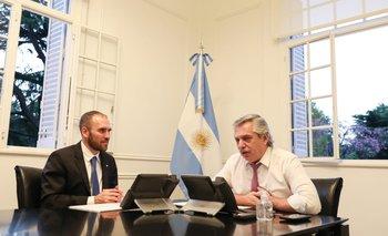 Alberto agradeció a Georgieva el apoyo del FMI | Deuda externa