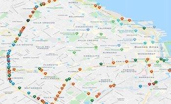 La Ciudad cerrará la mayoría de los accesos:mapa de cortes | Coronavirus en argentina