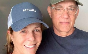 Dada de alta, la esposa de Tom Hanks rapeó desde su casa | Coronavirus
