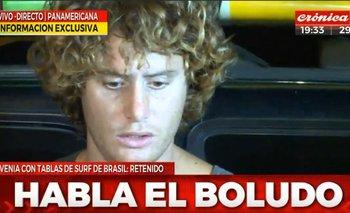 Las desopilantes placas de Crónica contra el surfer | Crónica tv